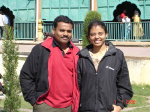 Annan and Anni in Mysore
